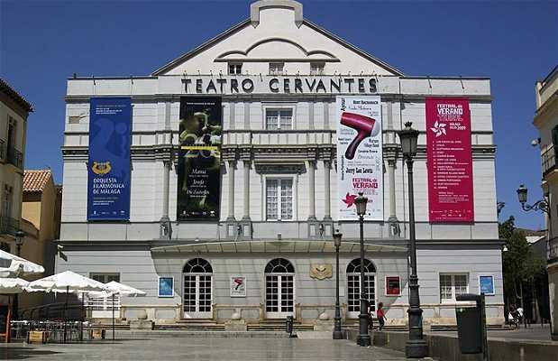 Il Teatro Municipale Miguel de Cervantes a Malaga