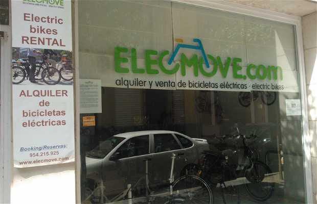 Alquiler de bicicletas ELECMOVE