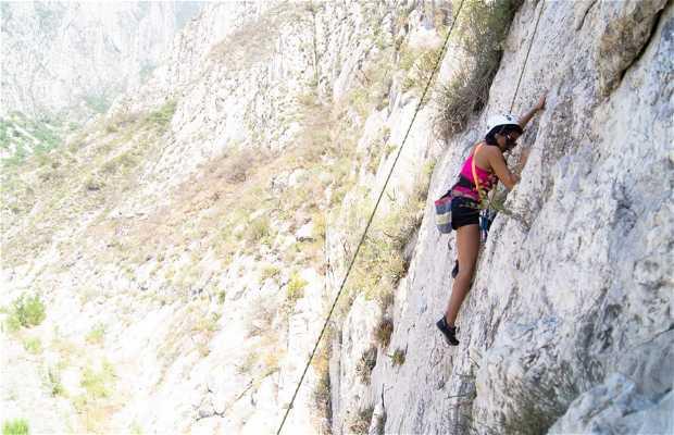 Escalar en La Huasteca