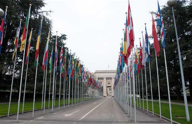 Palácio das Nações - Sede da ONU