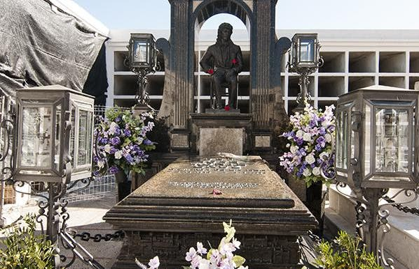 Tomba di José Monge Cruz (Camarón)