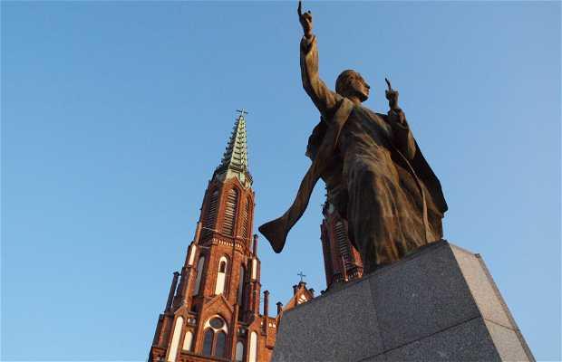 Estatua de Ignacy Jan Skorupka