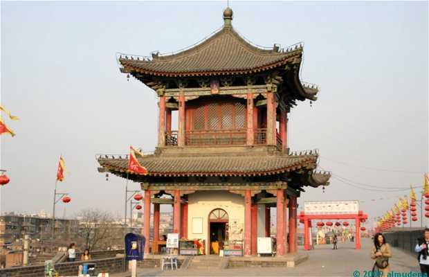 A muralha de Xian