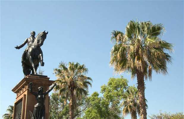 Statue équestre de Morelos