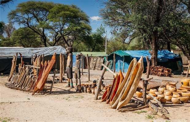 Okahandja Mbangura Woodcarvers Market