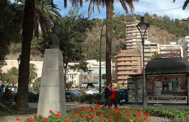 Monumento a Rubén Darío a Malaga