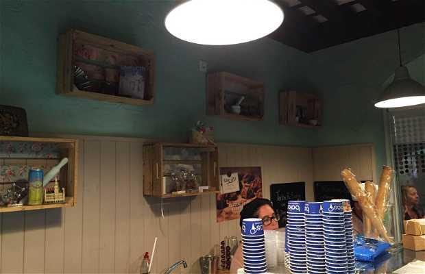 Comme Chez Toi: Pastelería Belga