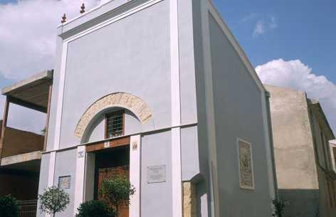 Ermita de San Antonio, Capilla de la Virgen del Rosario