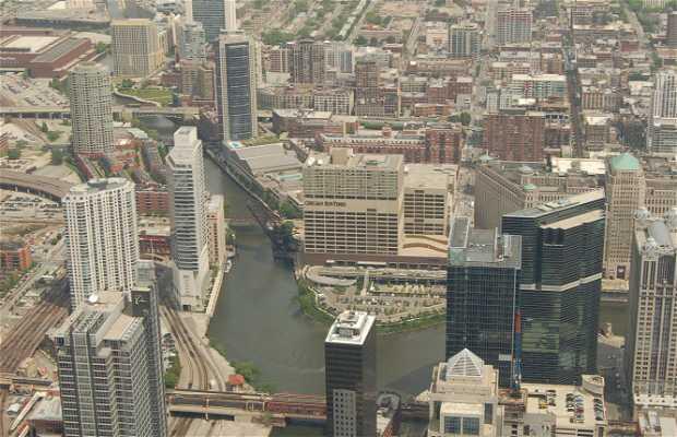 Il fiume Chicago