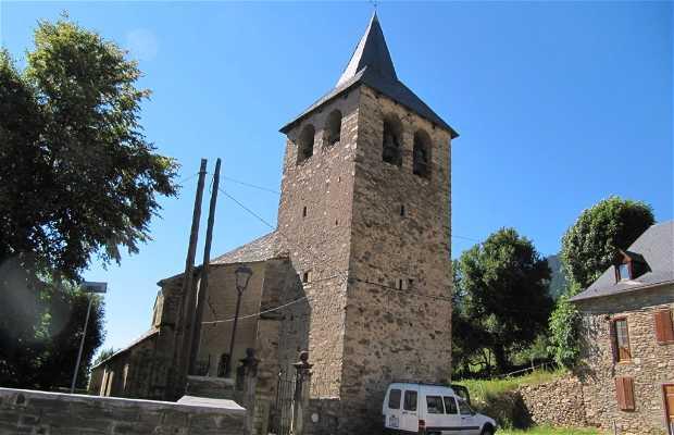 Iglesia de Sant Estèue de Montcorbau