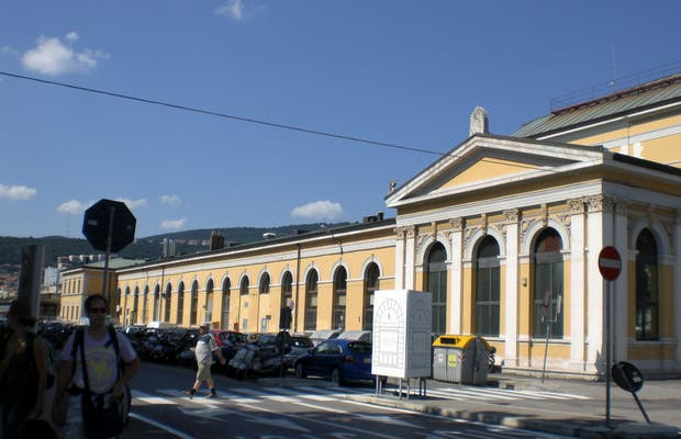 Gare centrale de Trieste