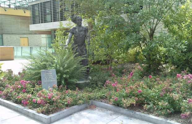 Statue saint amand