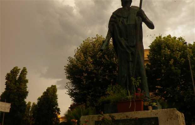 Il giardino di Sant'Agostino, Ostia