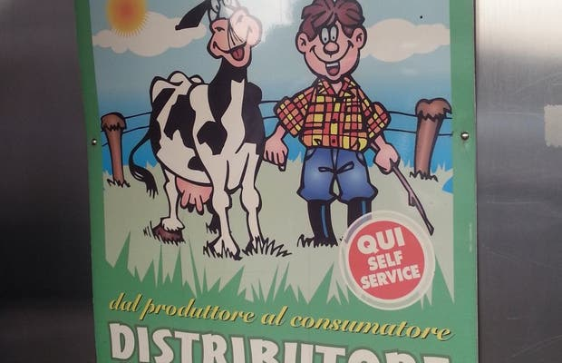 Distributore Latte Crudo