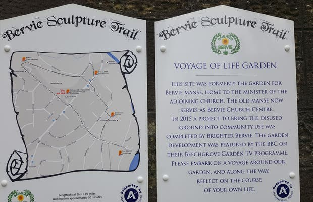 Ruta de las esculturas de Bervie