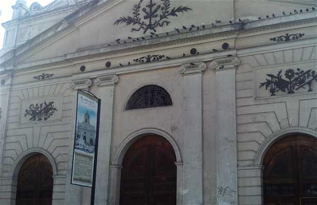 Iglesia recoleta franciscana
