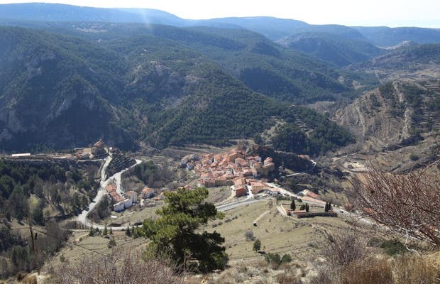 Red de miradores de estrellas de la comarca Gúdar-Javalambre