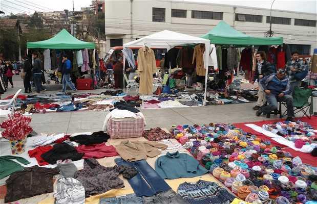 Feria avenida Argentina