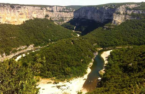 Canyon en Ardèche