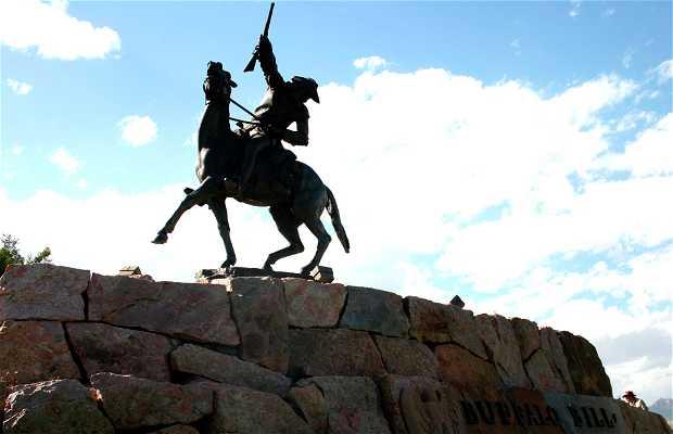 Statue de Buffalo Bill