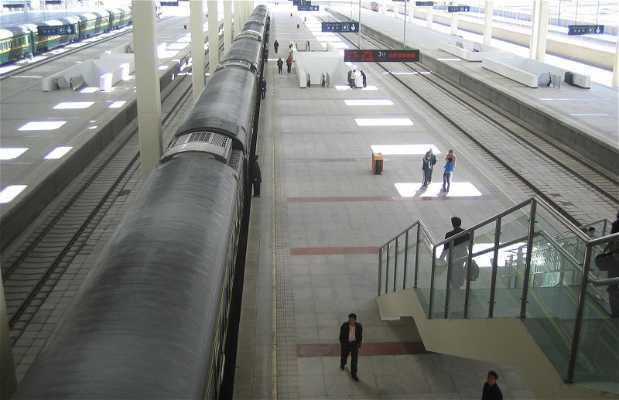 Tren de Lhasa a Xian