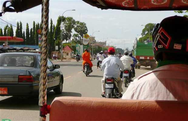 Tuk Tuk en Phnom Penh