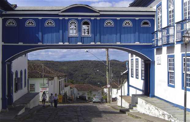 Centro histórico del pueblo de Diamantina