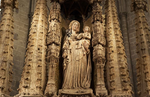 Retablo de Alabastro de la Basílica de Santa María