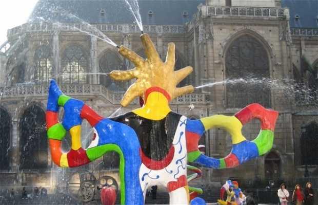 The Stravinsky Fountain