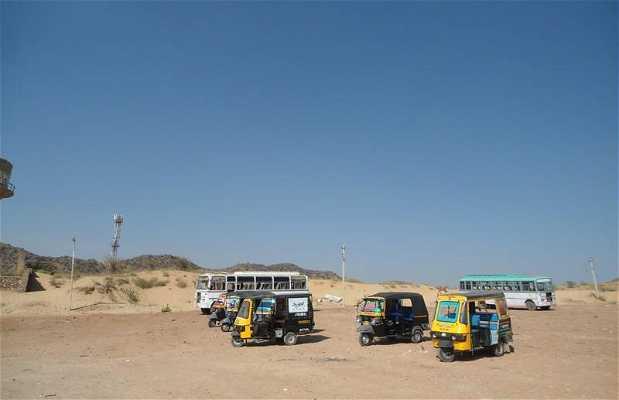 Estacion bus de Pushkar