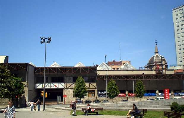 Estación de Tren FEVE de Gijón