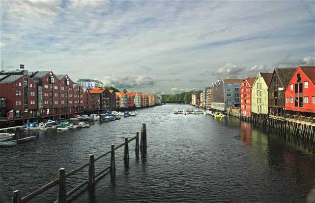 El barrio de Bakklandet