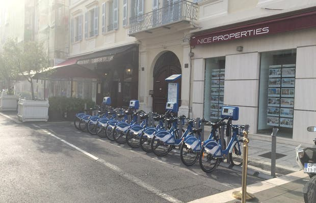Les Vélos Bleus
