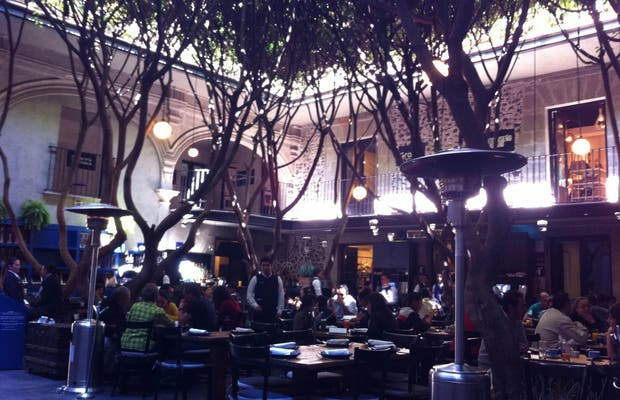 Café Azul histórico