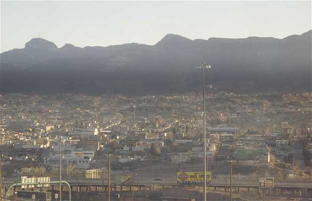 Linea fronteriza Ciudad Juarez-El Paso