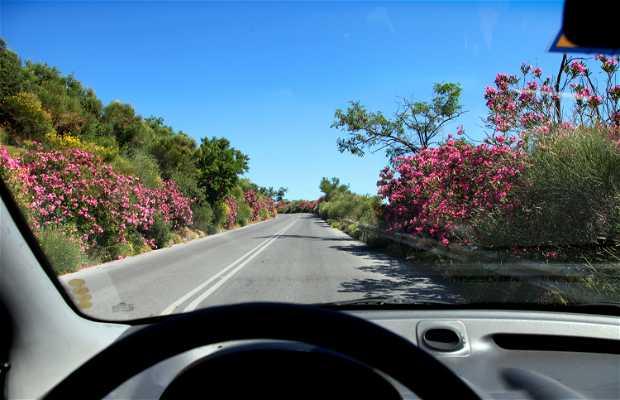 Carreteras de Creta