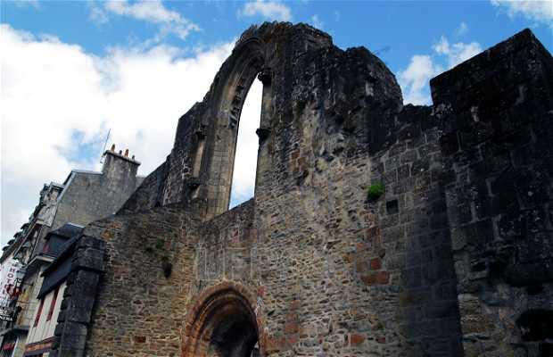 Les Ruines de l'église de Saint-Colomban