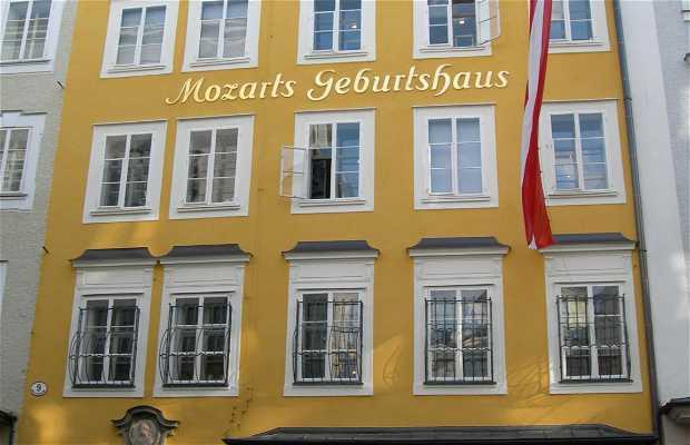 Residencias de Mozart