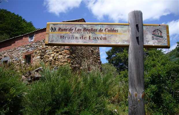 The Brañas de Caldas Route