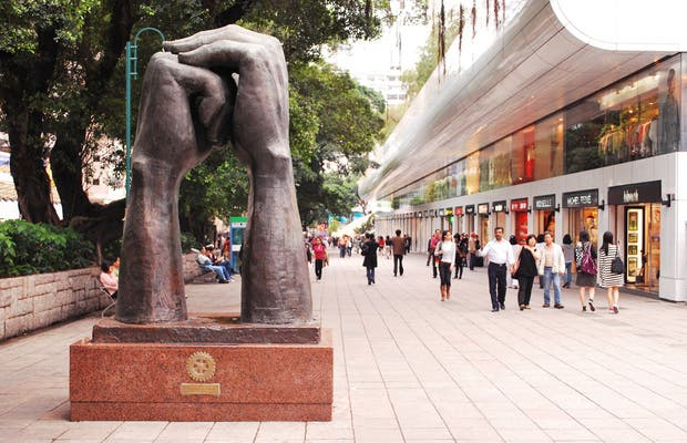Monumento Please di Hong Kong