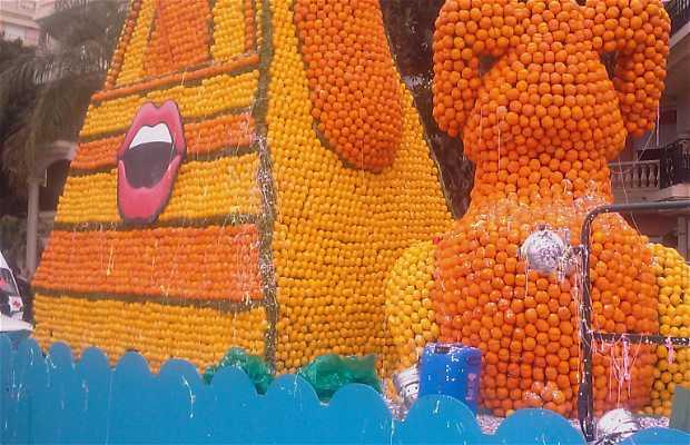 Fiesta del Limon, Menton, Francia
