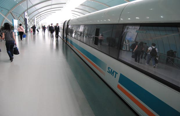 Estación del tren Maglev