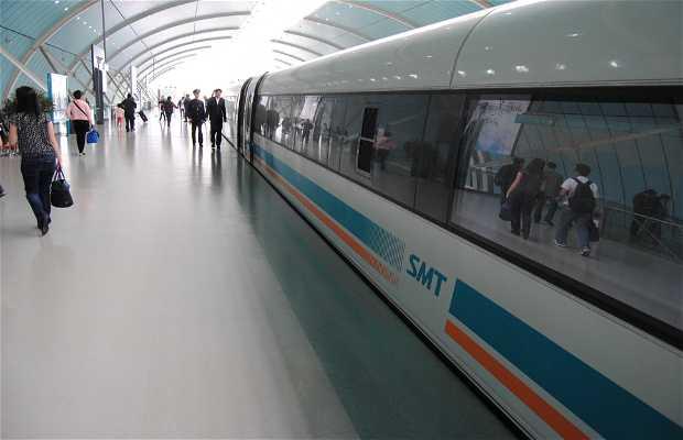 Station de train Maglev