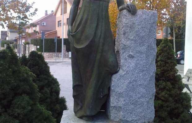 Statue en l'honneur de la Despernada