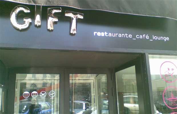 Gift, restaurante-café-lounge