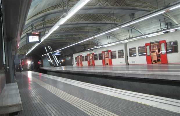 Estación FGC Plaza Catalunya