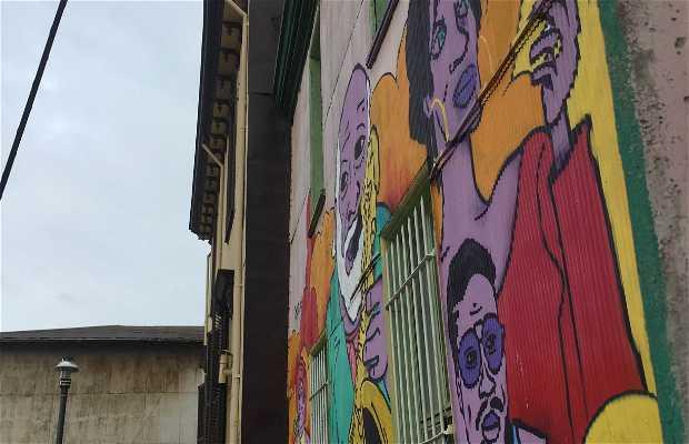 Grafitis de Valparaiso
