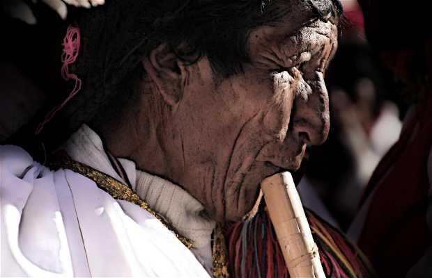 Isola di Taquile a Puno