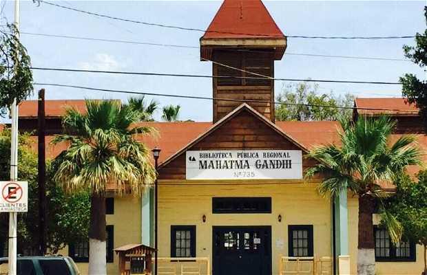 Biblioteca Pública Regional Mahatma Gandhi