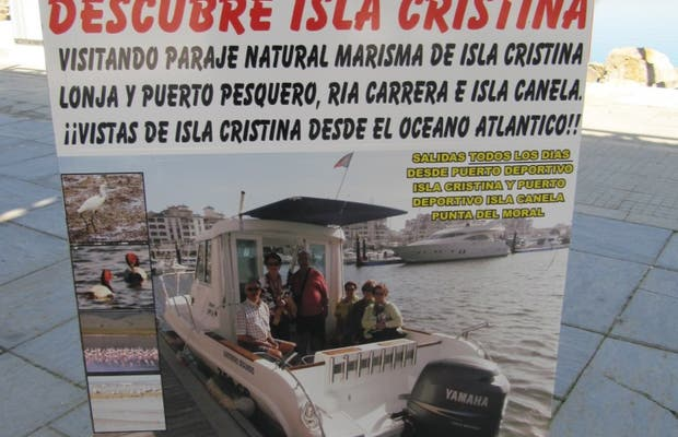 Excursión maritima: Descubre Isla Cristina